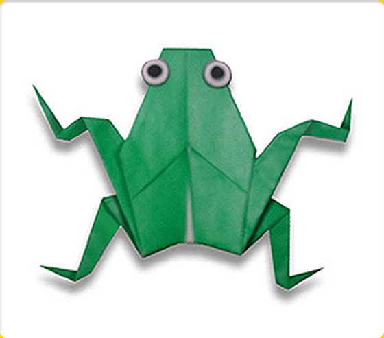 Pin by Alexandria Deaver on Work in 2020 | Origami frog, Useful ... | 493x560